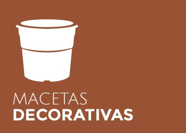 macetas decorativas
